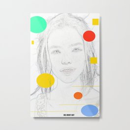 Woman N34 Metal Print