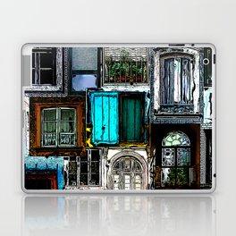 Textural Windows Collage Laptop & iPad Skin