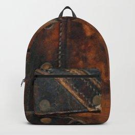 Steam-punk Vintage Antique Steamer-trunk Backpack