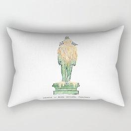 George W. Bush National Monument Rectangular Pillow