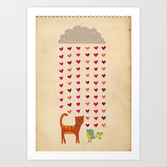 Valentines Art Print