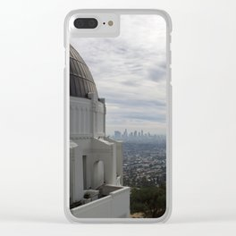 Griffith Observatory Clear iPhone Case