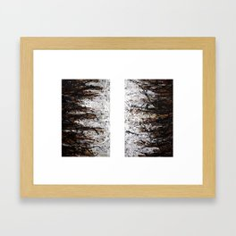 A Thing or Two (Diptych) Framed Art Print
