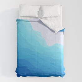 Icy Abyss Comforters