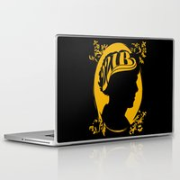 221b Laptop & iPad Skins featuring The Golden Boy from 221B by Suuki