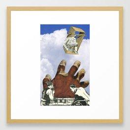 Beware Of The Control Freaks Framed Art Print