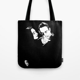 Gomez & Morticia Tote Bag
