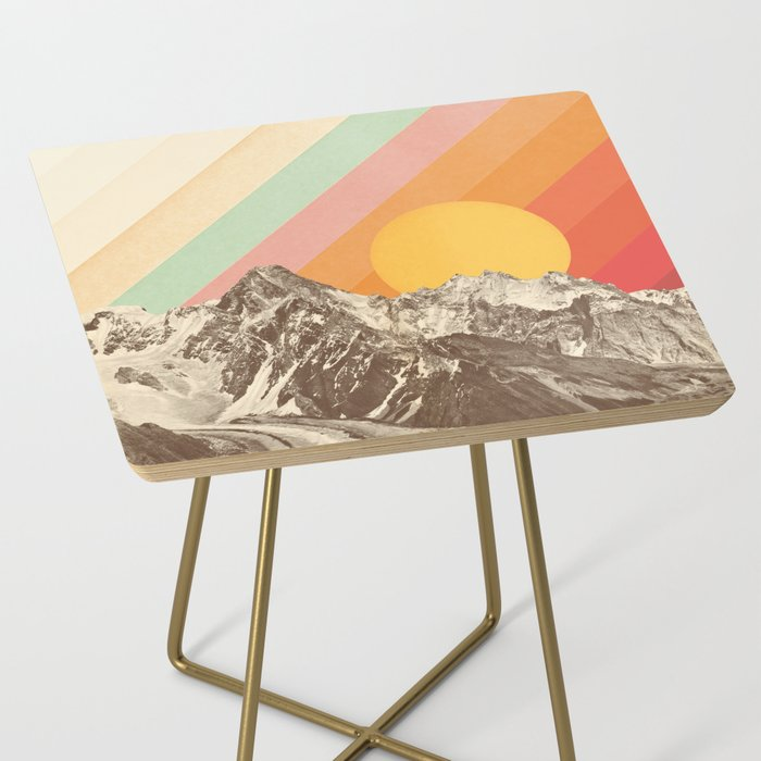 Mountainscape 1 Side Table