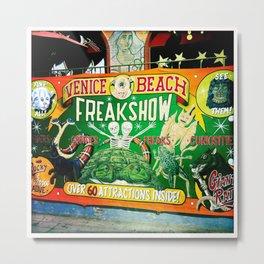 Venice Beach Freakshow Metal Print