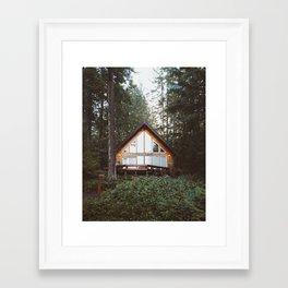 Cushman Cabin   Pt. 1 Framed Art Print