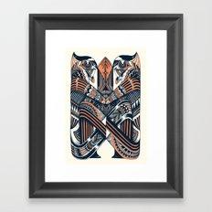 Worshipers  Framed Art Print