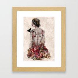 Spring Couture Framed Art Print