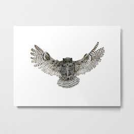 Inked flight Metal Print