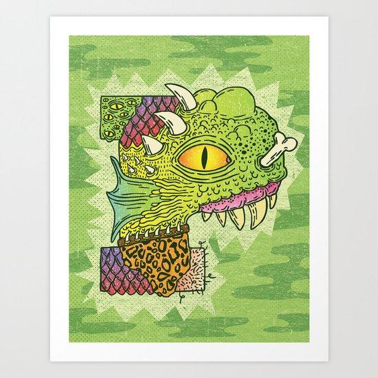 P-rimal  Art Print