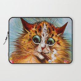 "Louis Wain's Cats ""Tom Smith's Crackers"" Laptop Sleeve"