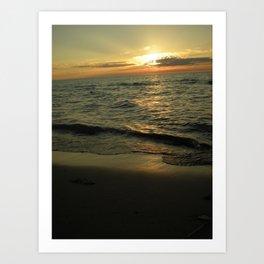Michigan Sunset 2 Art Print