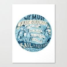 Learn to Sail Canvas Print
