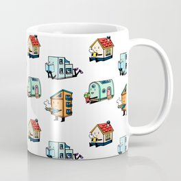 Home Bodies pattern Coffee Mug