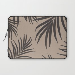 Palm Leaves Pattern Sepia Vibes #1 #tropical #decor #art #society6 Laptop Sleeve