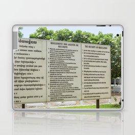 S21 Rules - Khmer Rouge, Cambodia Laptop & iPad Skin