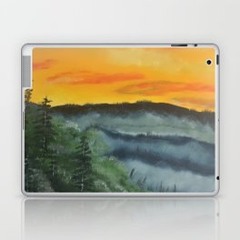 What lies beyond the valley Laptop & iPad Skin