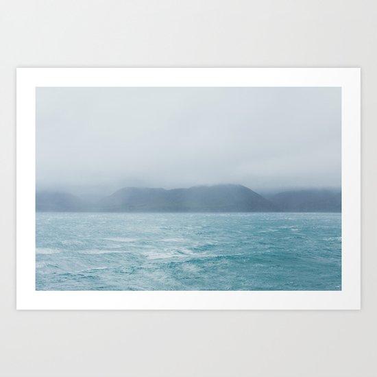 New Zealand Ocean Art Print