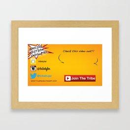 oyqtyq Framed Art Print