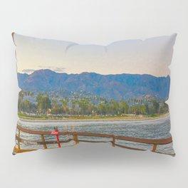 Santa Barbara at twilight Pillow Sham