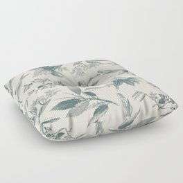 BRANCHES AND LEAVES Floor Pillow
