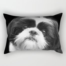 Shih Tzu Dog Rectangular Pillow