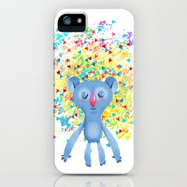 Sleepy Bear iPhone Case