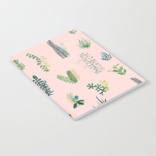 pink Garden Notebook