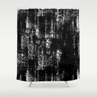 grunge Shower Curtains featuring Grunge by neadevar