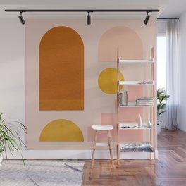 Abstraction_SHAPES_Minimalism_01 Wall Mural