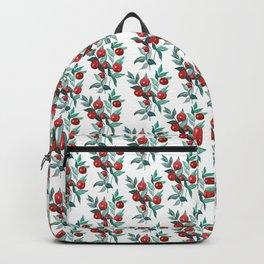 Butchers broom red berries Backpack