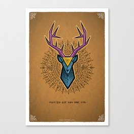 Materialization Deer Canvas Print