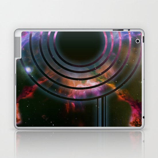 Wall of Space Laptop & iPad Skin