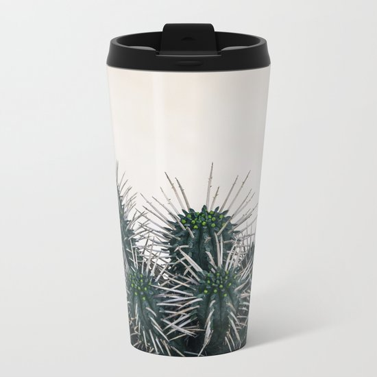 cactus I Metal Travel Mug