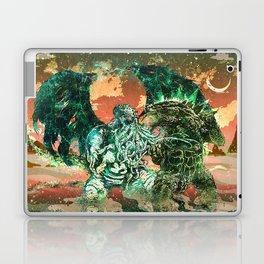 Cthulhu vs Godzilla Laptop & iPad Skin