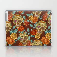 Sugar Skull Pattern Laptop & iPad Skin