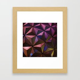 Epcot, Oh Epcot Framed Art Print