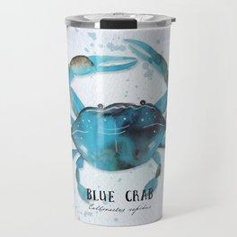 blue crab Travel Mug