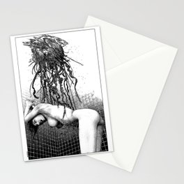 asc 1005 - Le parasite (The guest in the bathroom) Stationery Cards