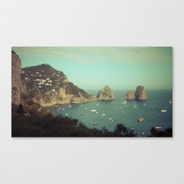 Amalfi coast, Italy 2 Canvas Print
