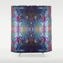 (Charging, Chanting Down) The Jungle Line Shower Curtain