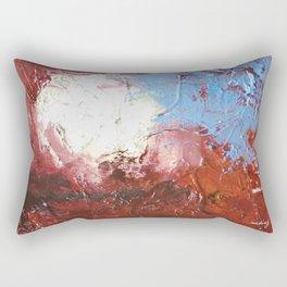 Erase the Damage by Nadia J Art Rectangular Pillow