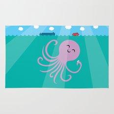 Octopus Selfie Rug