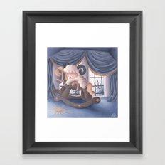 Rockabye Framed Art Print