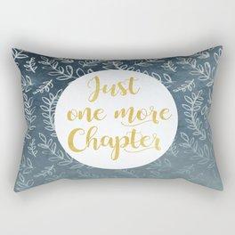 Just One More Chapter Design Rectangular Pillow