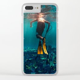 Sunken City Clear iPhone Case